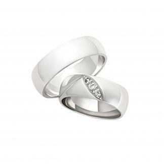 Snubní prsteny vzor 5