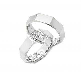 Snubní prsteny vzor 14