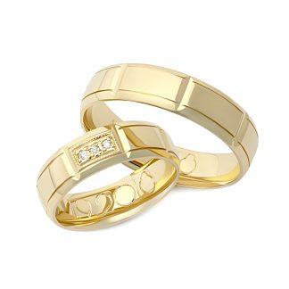 Snubní prsteny vzor 15