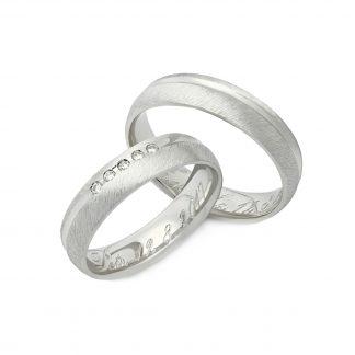 Snubní prsteny vzor 9