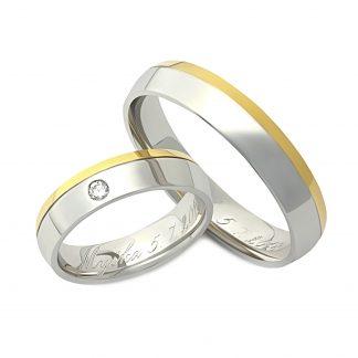 Snubní prsteny vzor 46