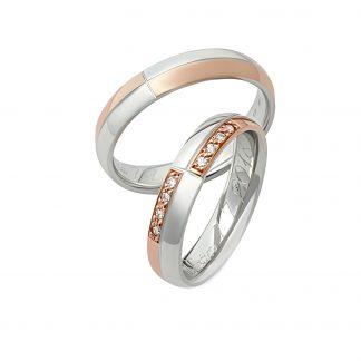 Snubní prsteny vzor 60