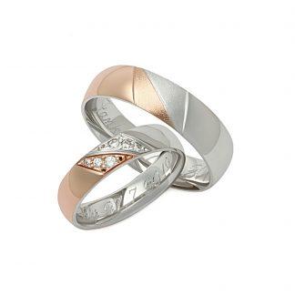 Snubní prsteny vzor 63