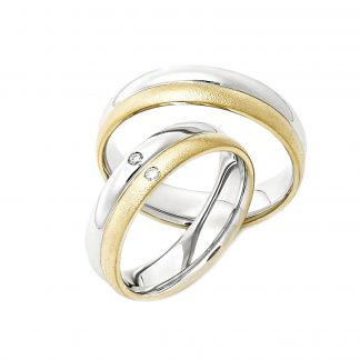 Snubní prsteny vzor 75
