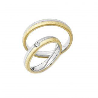 Snubní prsteny vzor 80