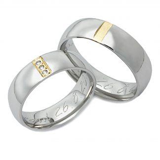 Snubní prsteny vzor 84