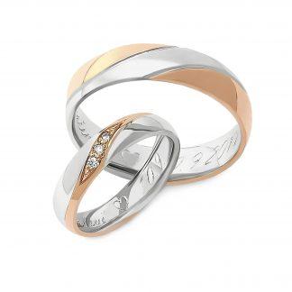 Snubní prsteny vzor 96