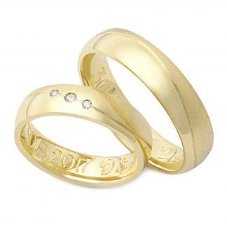 Snubní prsteny vzor 99