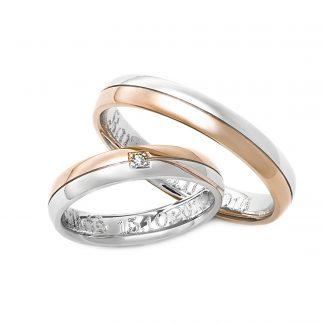 Snubní prsteny vzor 100