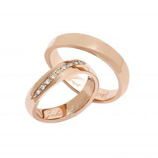 Snubní prsteny vzor 107