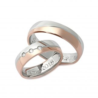 Snubní prsteny vzor 112