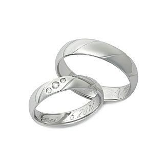 Snubní prsteny vzor 113