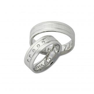 Snubní prsteny vzor 115