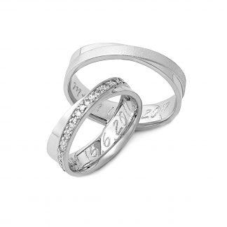 Snubní prsteny vzor 123