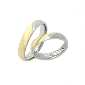 Snubní prsteny vzor 129
