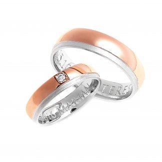 Snubní prsteny vzor 133