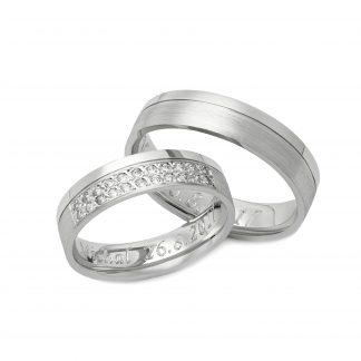 Snubní prsteny vzor 139