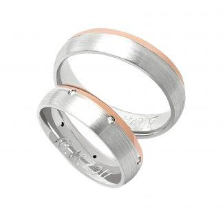 Snubní prsteny vzor 140