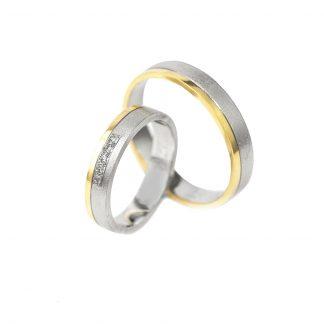 Snubní prsteny vzor 144