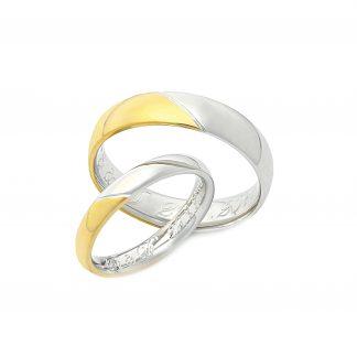 Snubní prsteny vzor 146