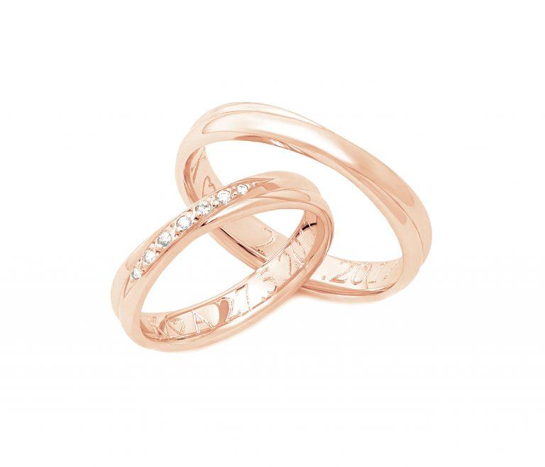 Snubní prsteny vzor 148