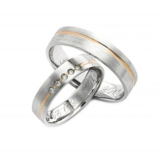 Snubní prsteny vzor 156