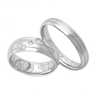 Snubní prsteny vzor 159
