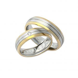 Snubní prsteny vzor 168