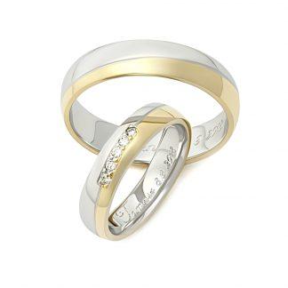 Snubní prsteny vzor 174