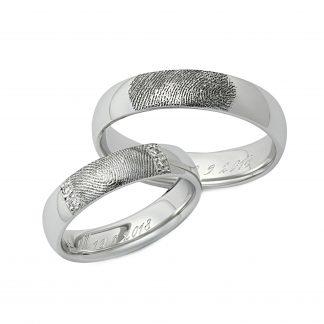 Snubní prsteny vzor 177