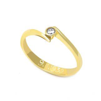 Zásnubní prsten vzor 83