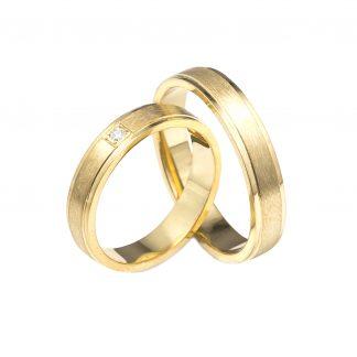 Snubní prsteny vzor 3