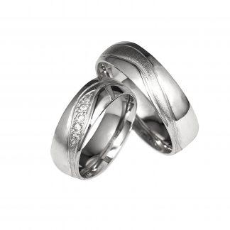 Snubní prsteny vzor 4
