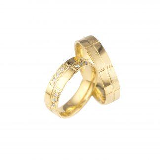 Snubní prsteny vzor 25