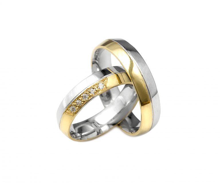 Snubní prsteny vzor 37