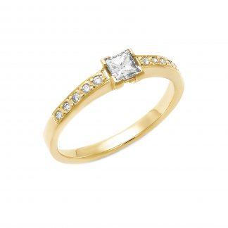 Zásnubní prsten vzor 8