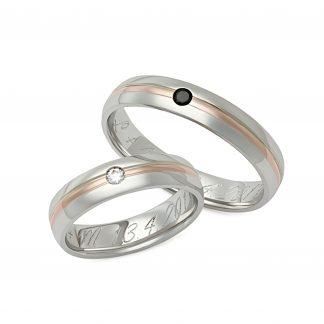 Snubní prsteny vzor 185