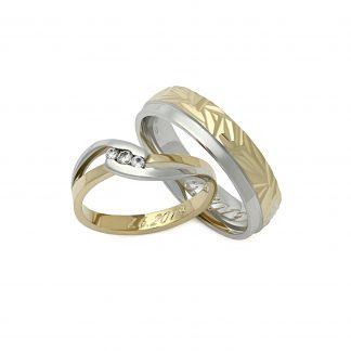 Snubní prsteny vzor 190