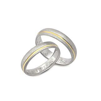 Snubní prsteny vzor 191