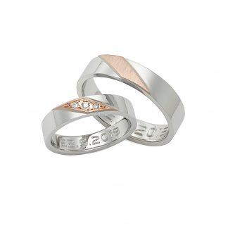 Snubní prsteny vzor 192