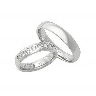 Snubní prsteny vzor 194