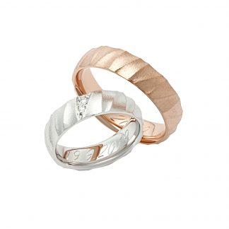 Snubní prsteny vzor 203