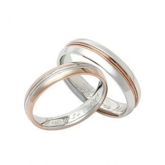 Snubní prsteny vzor 204