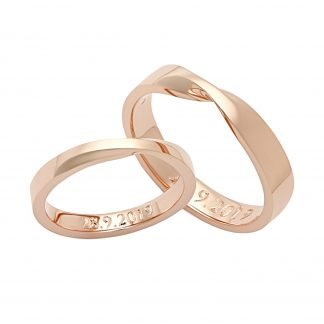 Snubní prsteny vzor 205